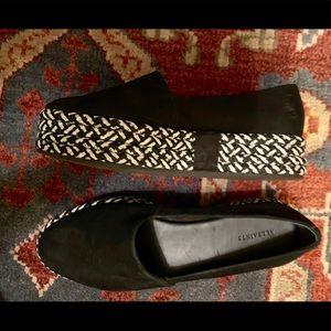 All Saints Platform Suede Shoes